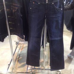 bootcut jeans, $60