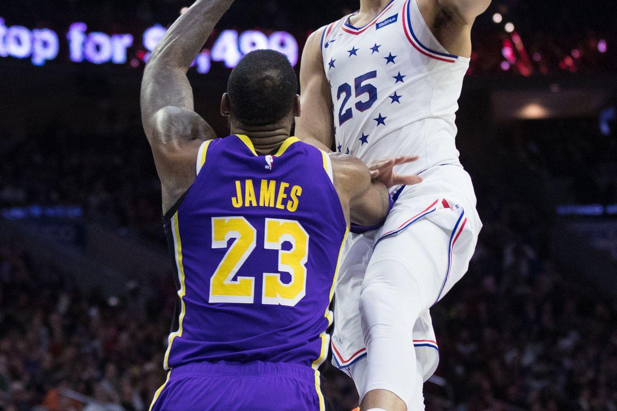 NBA: Los Angeles Lakers at Philadelphia 76ers