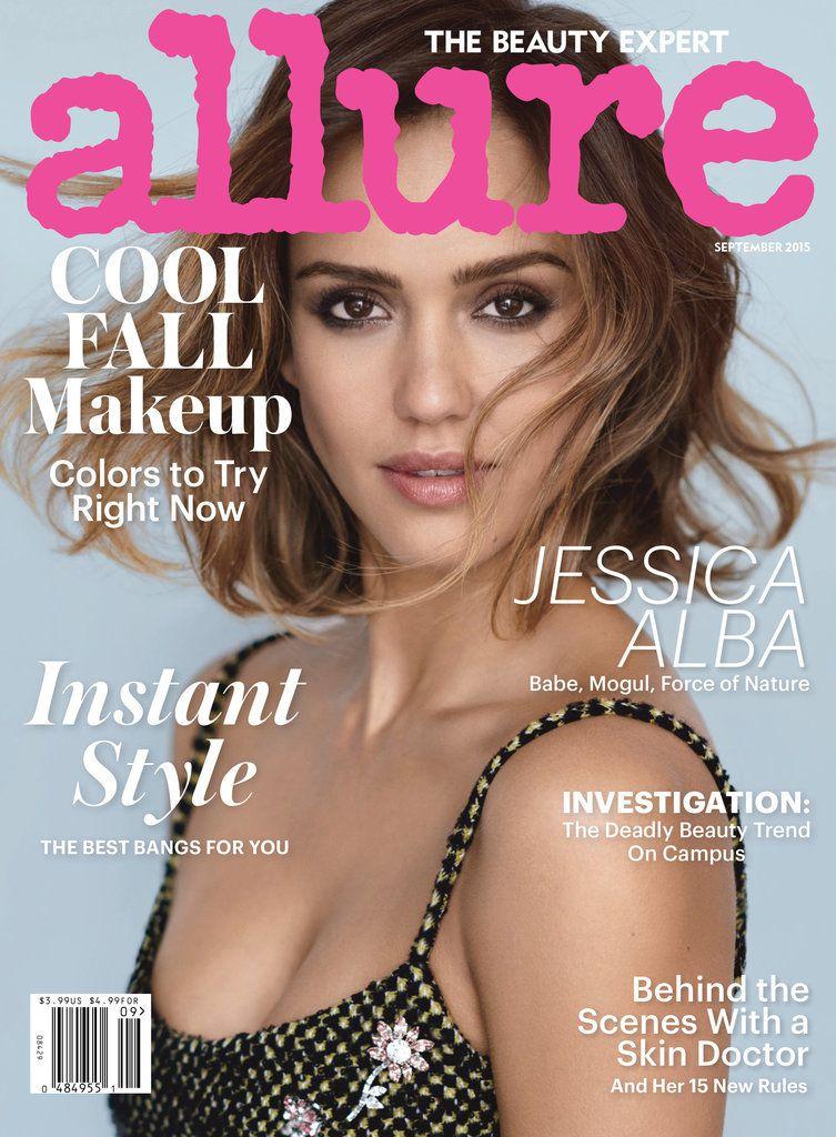 """<a href=""""http://www.popsugar.com/celebrity/Jessica-Alba-Done-Acting-Allure-September-Cover-38140055#photo-38140055""""><em>Popsugar.com</em></a>"""
