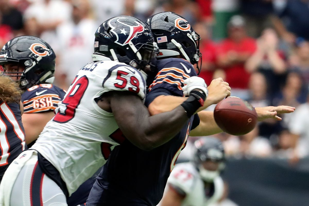 Whitney Mercilus Named AFC Defensive Player The Week Battle