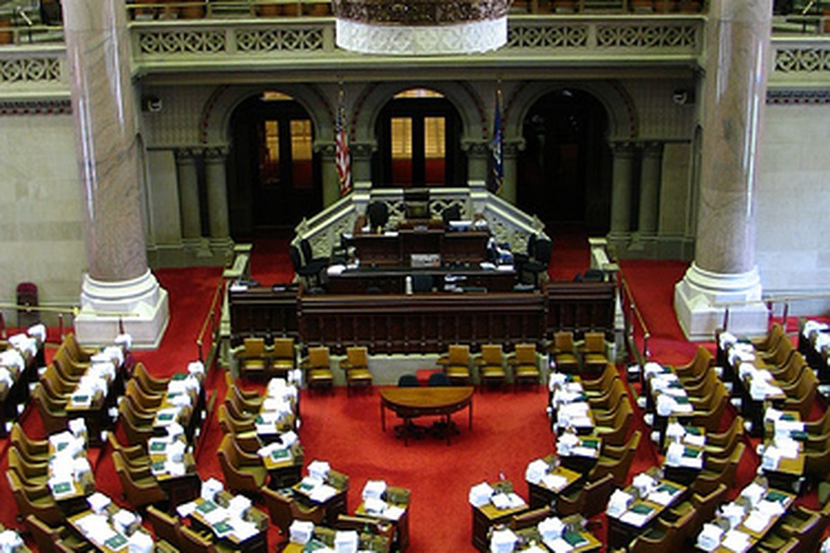New York State Capitol.