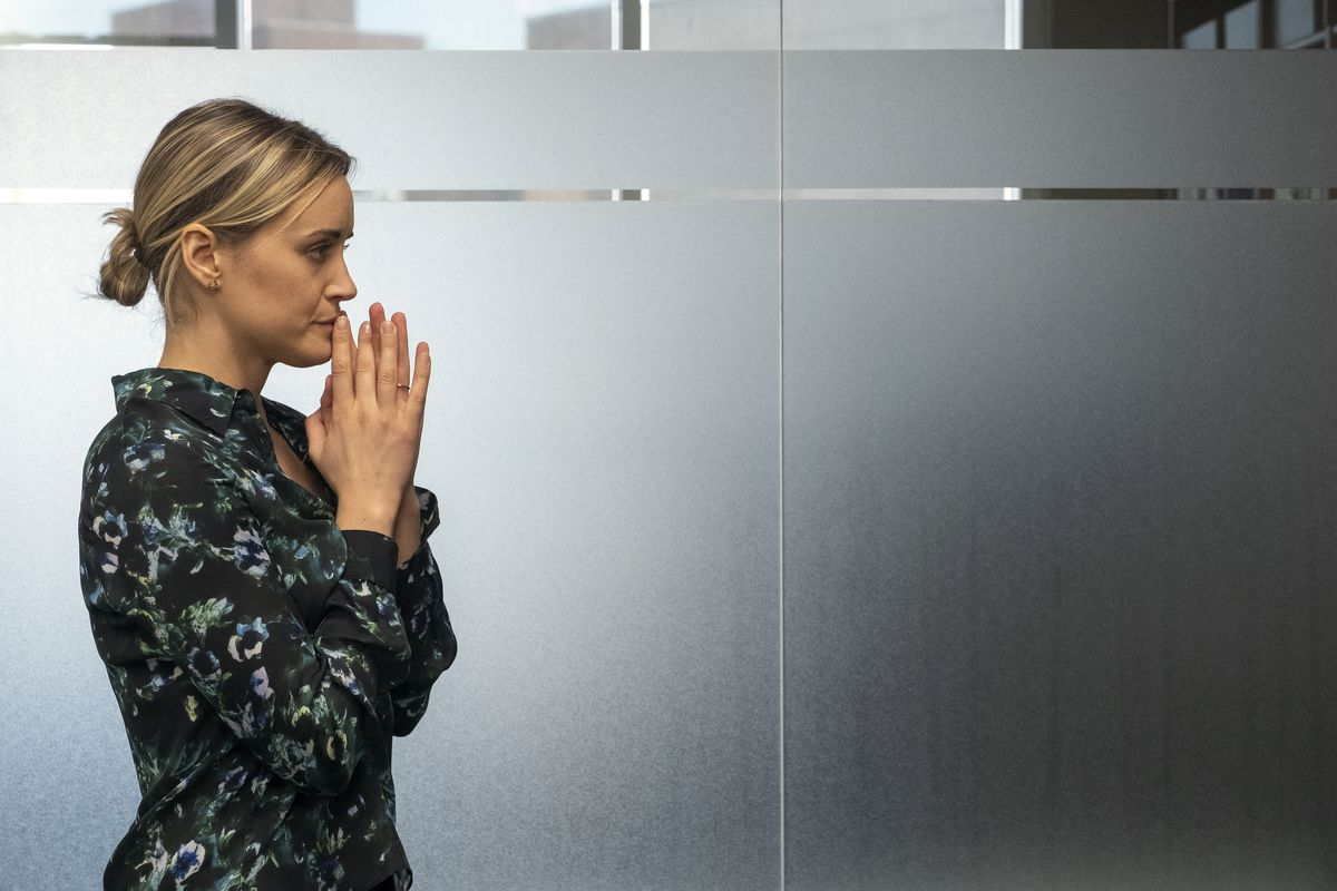 Taylor Schilling stars in Orange Is the New Black.