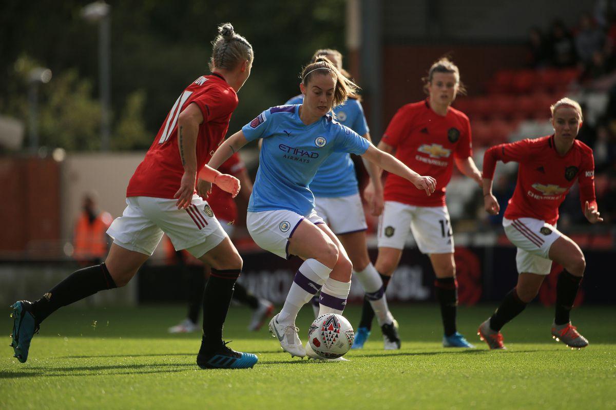 Manchester United Women v Manchester City Women - FA Women's Continental League Cup