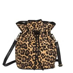 "Pixie Market leopard bucket bag, <a href=""http://www.pixiemarket.com/leopard-bucket-bag.html"">$55</a>"