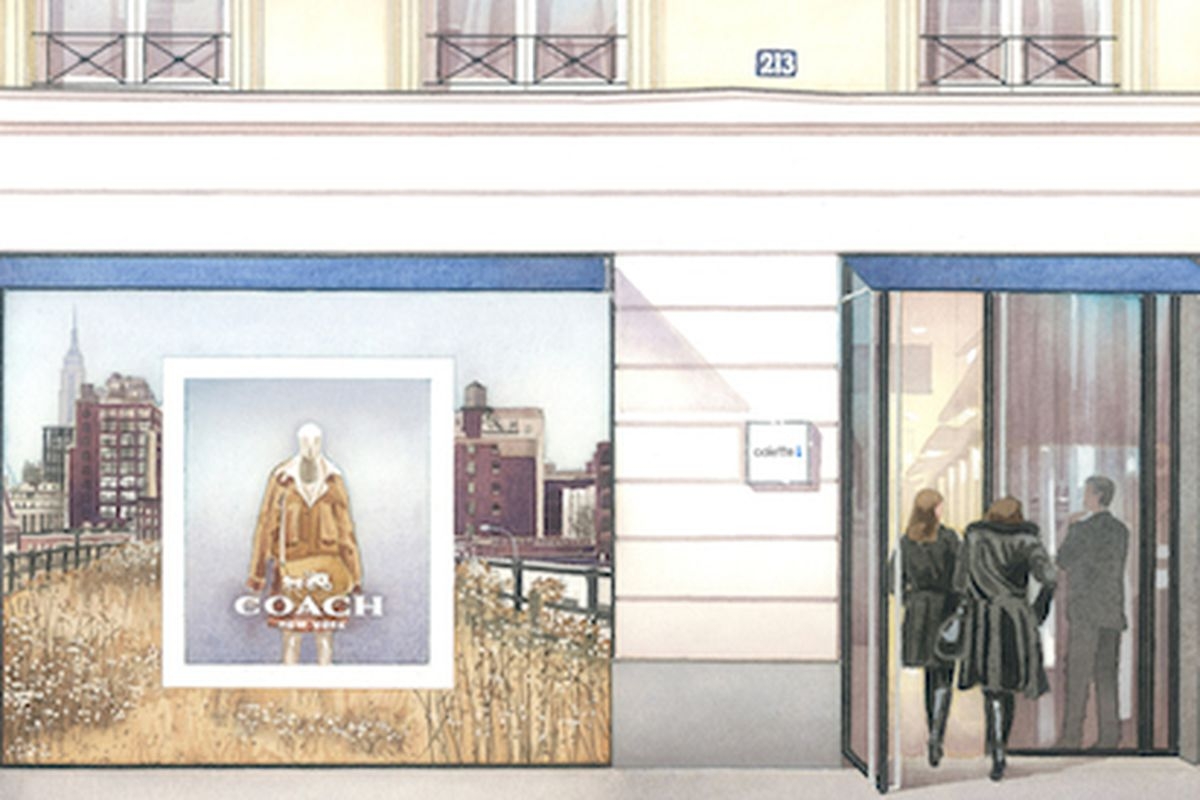 """Image via <a href=""""http://crfashionbook.com/post/90082323776/coach-at-colette-stuart-vevers-first-collection"""">CRFB</a>"""