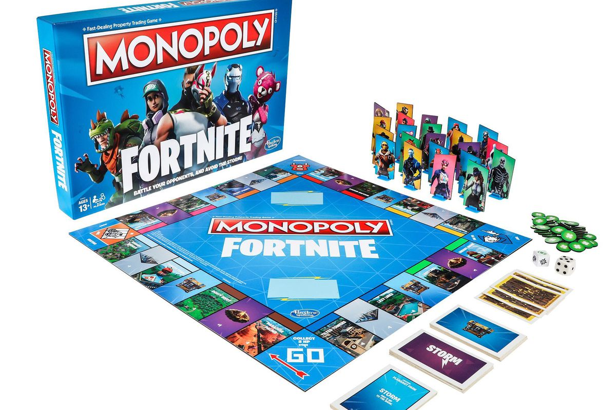 Fortnite Monopoly Is Coming This October Polygon