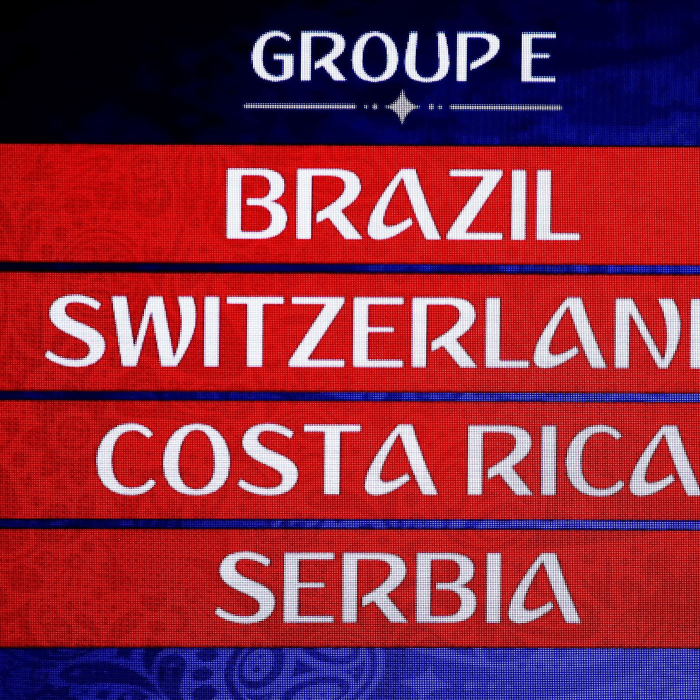 4b566885472 World Cup 2018 Primer  Group E — Brazil