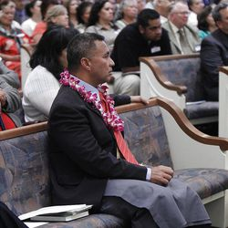 """Scenes from the Pacific Islander conference """"Navigating the Future"""" sponsored by the Deseret News as a forum for different issues for Polynesians at the Joseph Smith Building Wednesday, Sept. 21, 2011, Salt Lake City, Utah."""