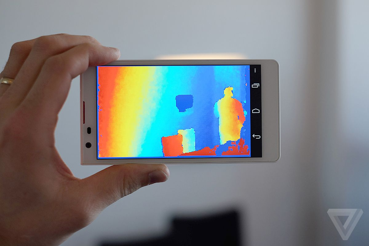 See How Google's New 'Project Tango' Smartphones Sense The