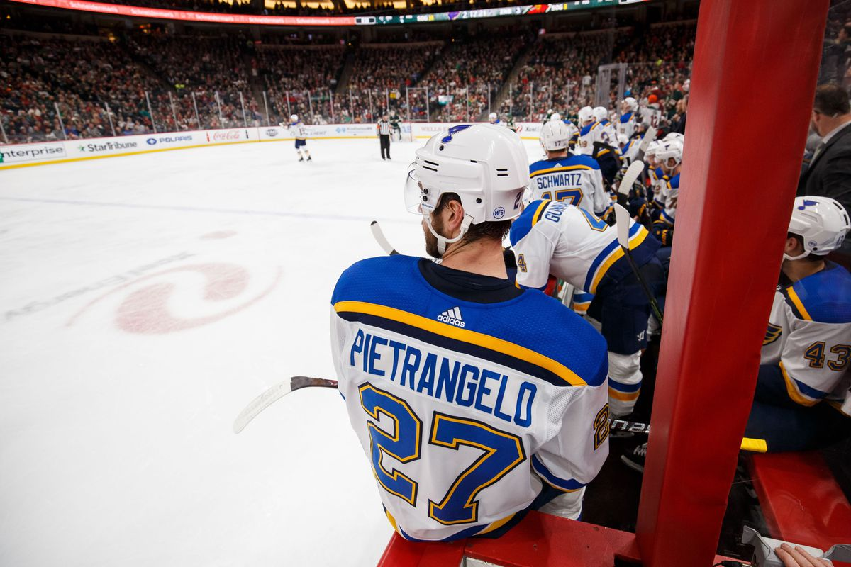 Finding New Ways To Appreciate Alex Pietrangelo St Louis Game Time