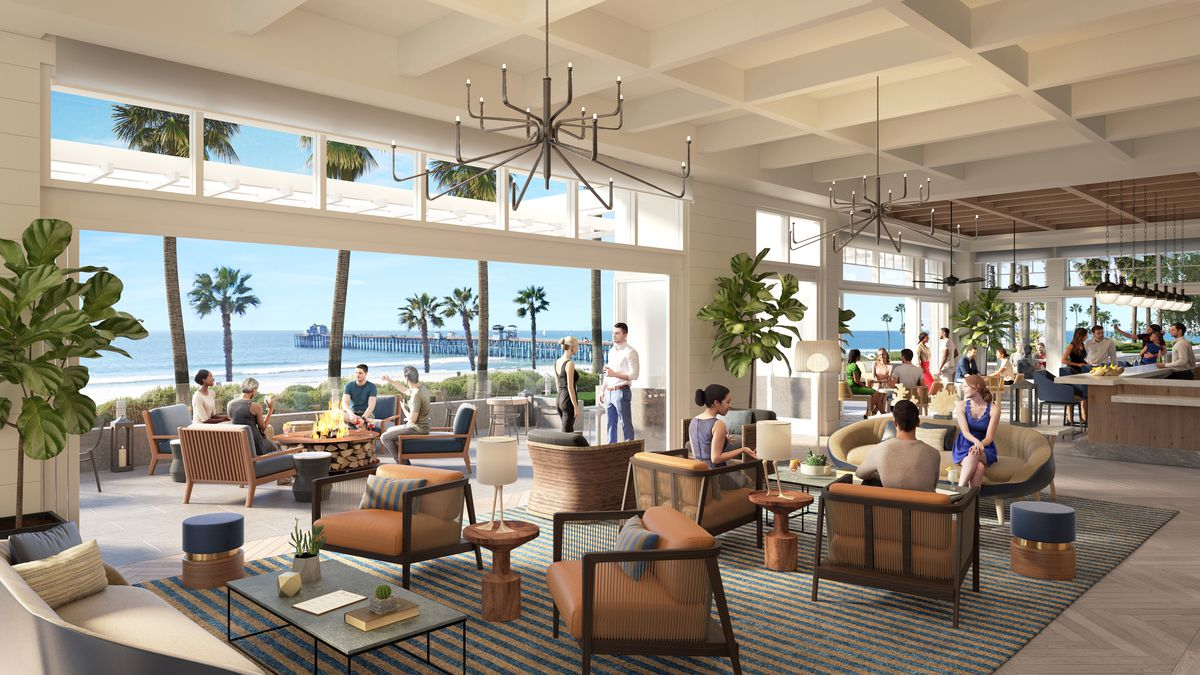 Rendering of The Shore Room at The Seabird Resort