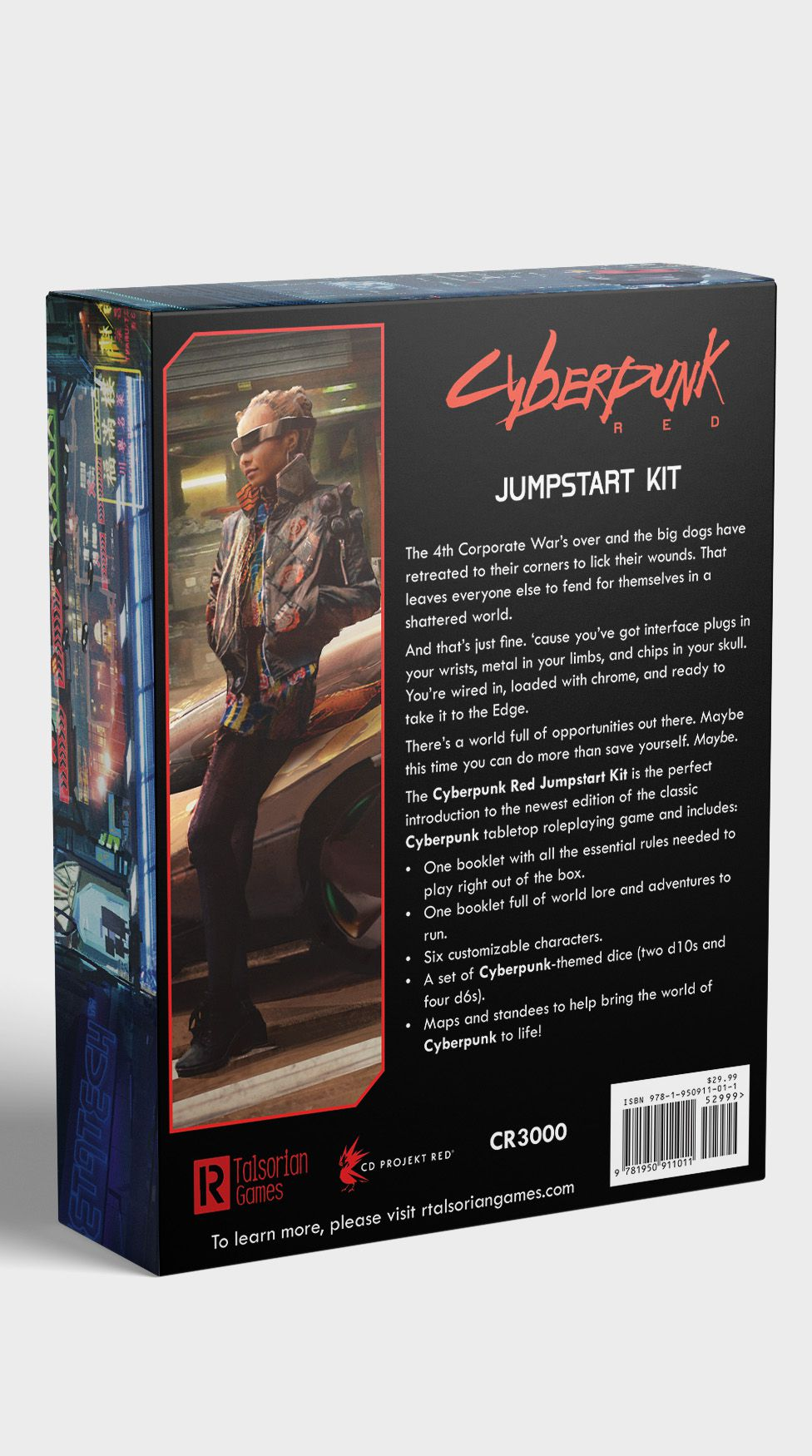 Cyberpunk 2077 tabletop RPG out this August, check out the cover art