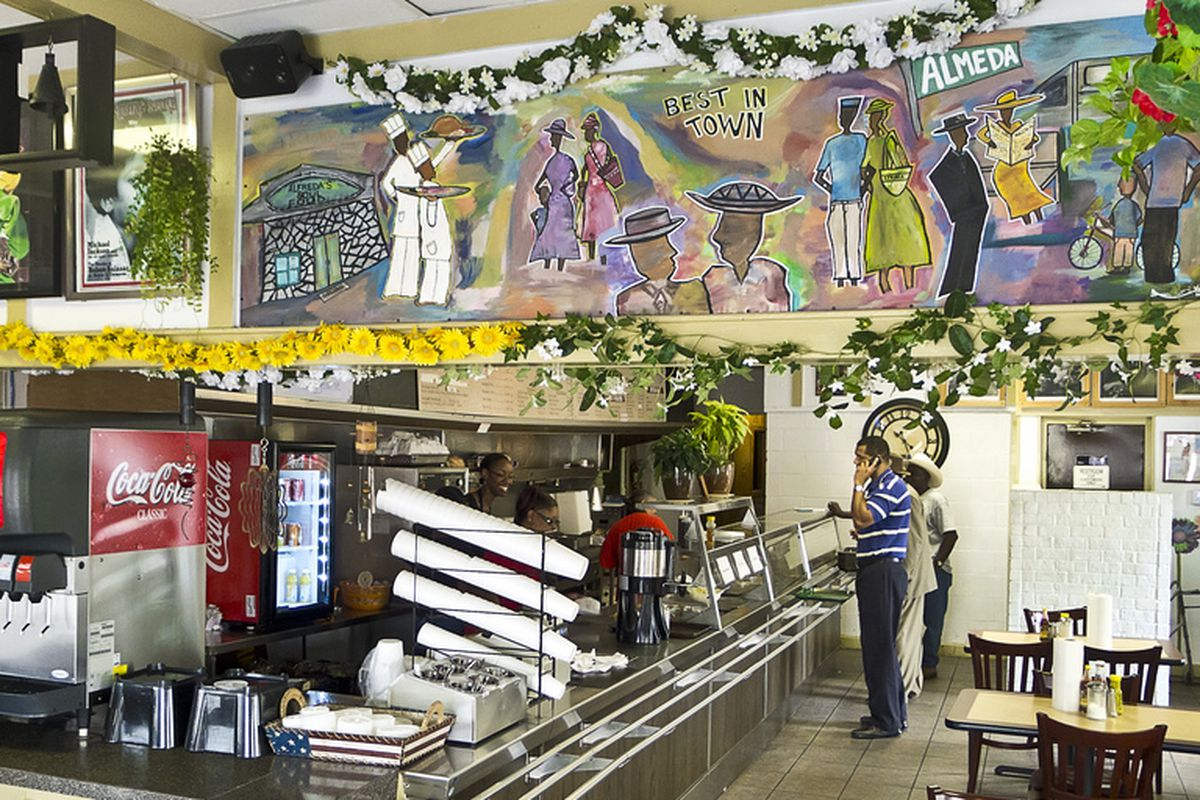 Alfreda's Cafeteria.