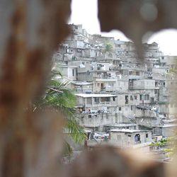A hillside slum in Port Au Prince.