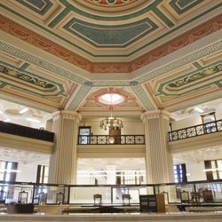The main floor of the Bridgeview Bank Uptown, alandmark building. | Rich Hein/ Sun-Times