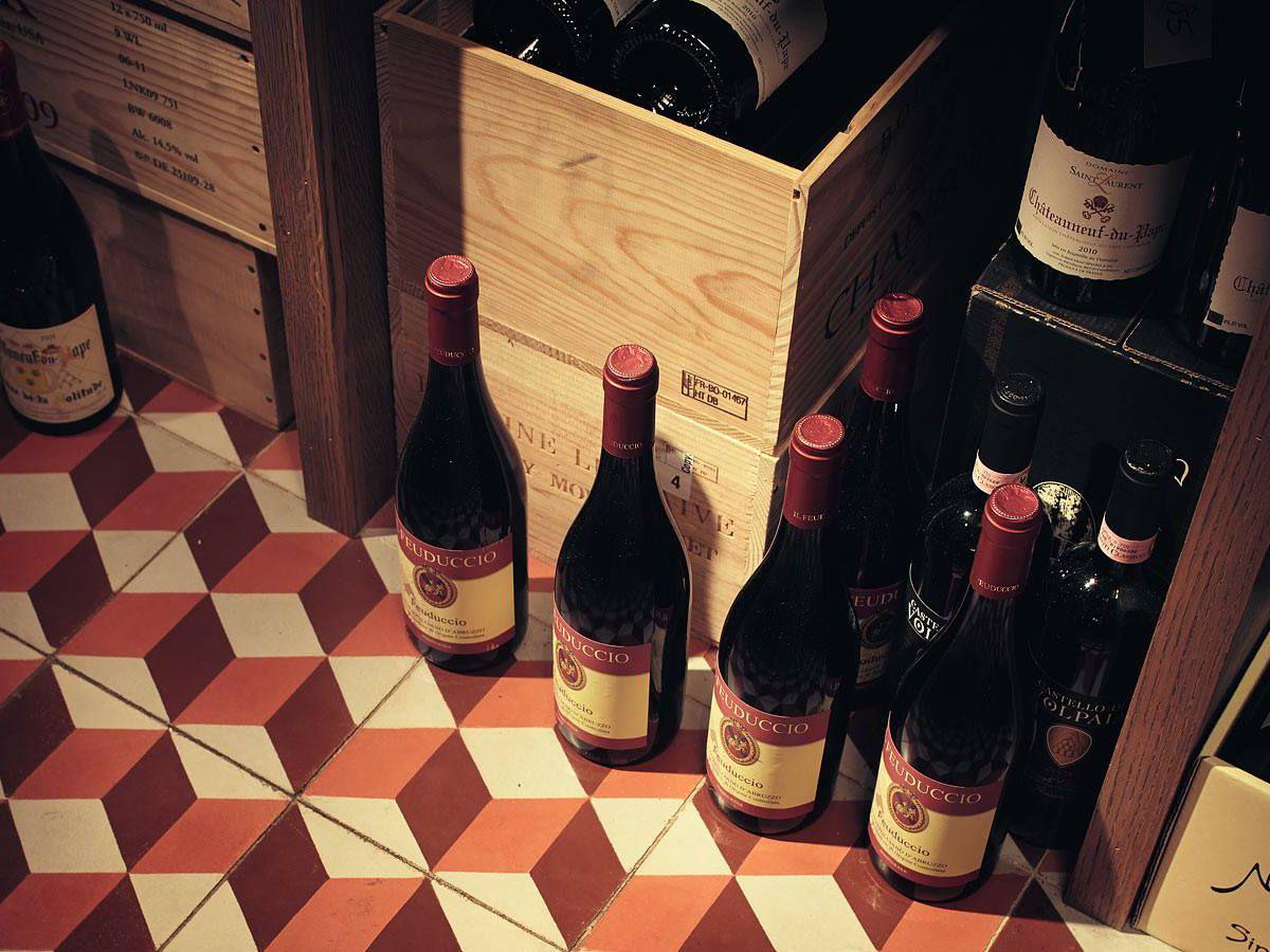 Wines at Jeffrey's