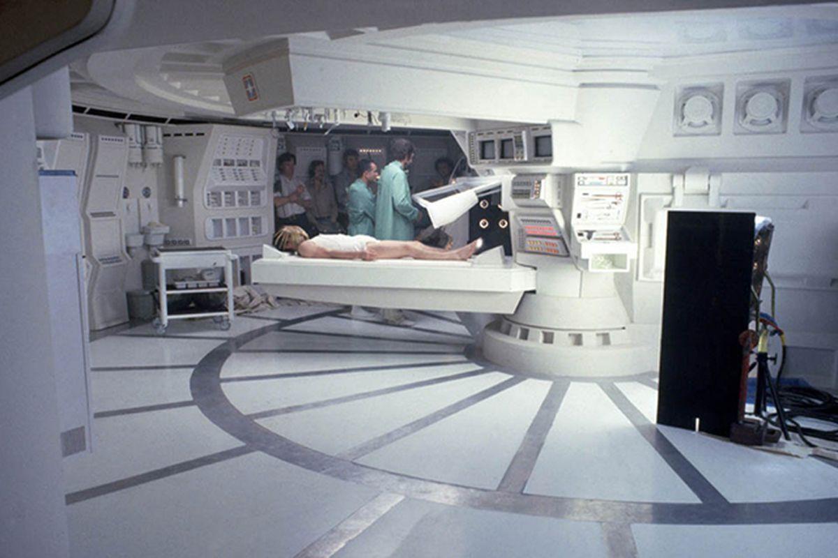 nostromo medical bay