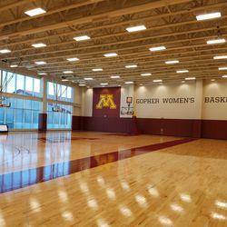 Women's practice gym