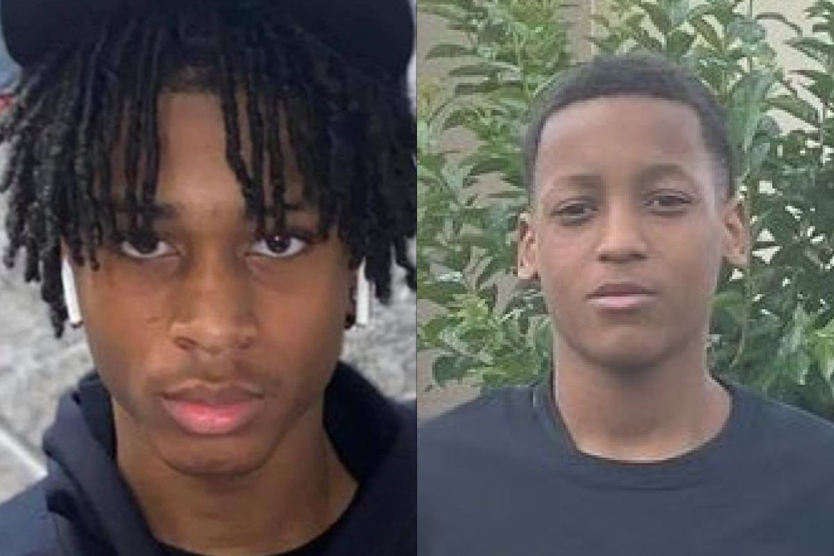 Simeon Career Academy students are coping with the fatal shootings of two classmates, Jamari Williams (left) and Kentrell McNeal (right) who were gunned down just hours apart.