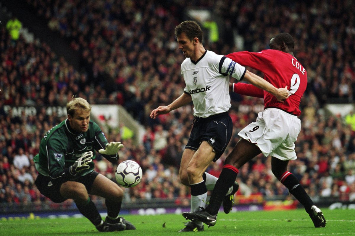 Andy Cole Gudni Bergsson Jussi Jaaskelainen