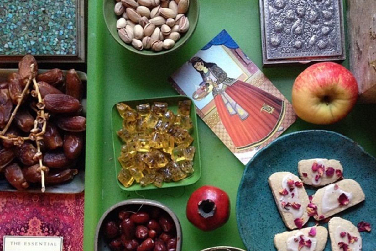 Persian new year or nowruz explained vox a beautiful nowruz haft seen courtesy of nini ordoubadi kristyandbryce Gallery