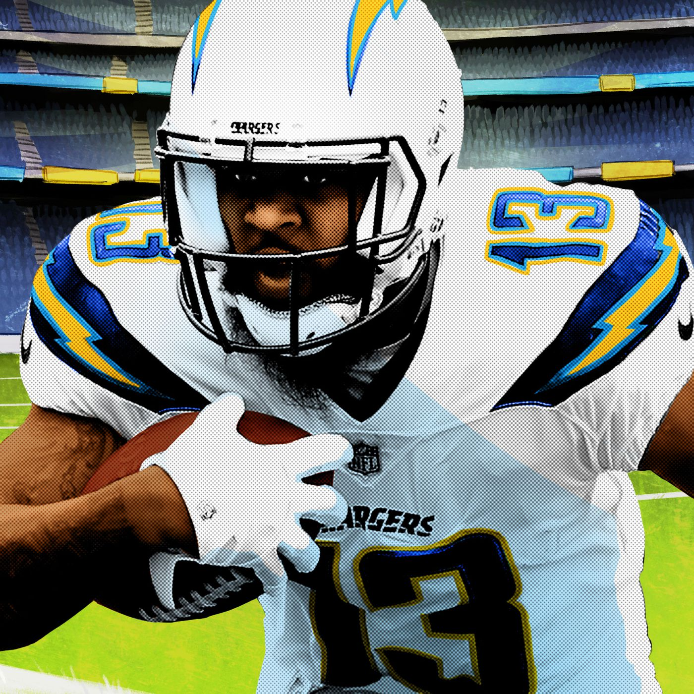 sale retailer 9594c 7bd95 Keenan Allen Is Only Scratching the Surface of His Potential ...