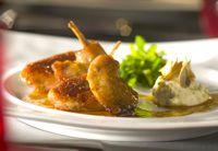 Foie gras stuffed free-range quail
