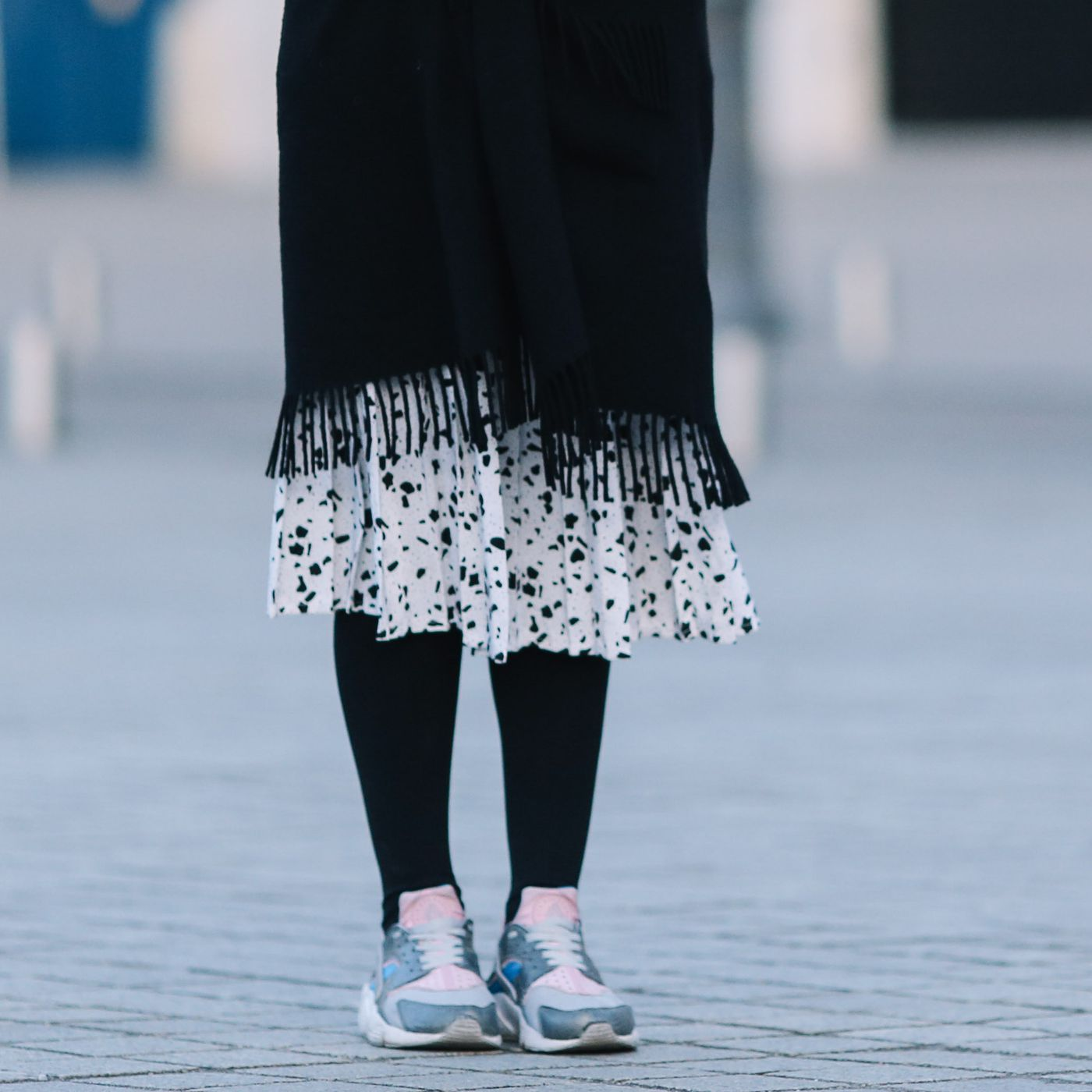 Wearing Skirts Over Pants Helps Me Straddle Two Worlds - Racked