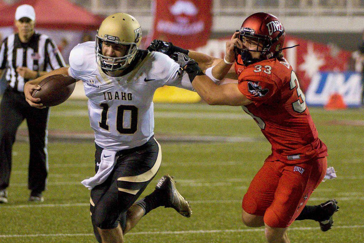 NCAA Football: Idaho at UNLV