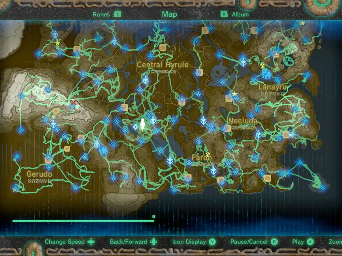 Zelda Breath Of The Wild Guide How To Use The Hero S Path