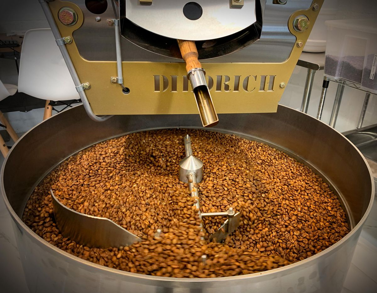 A coffee roaster