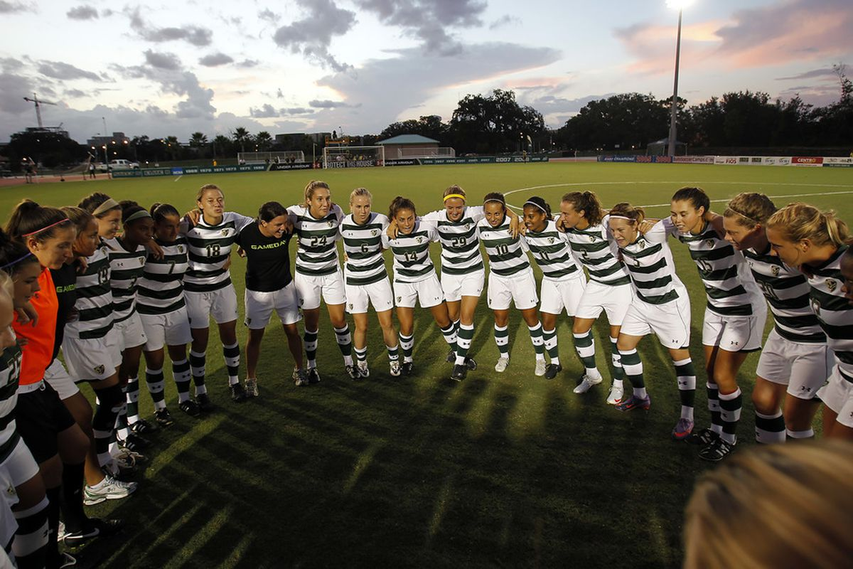 The Women's Soccer Team is ready to make a deep run in the NCAA Tournament this year.. Credit J Meric and GoUSFBulls.com For Photo