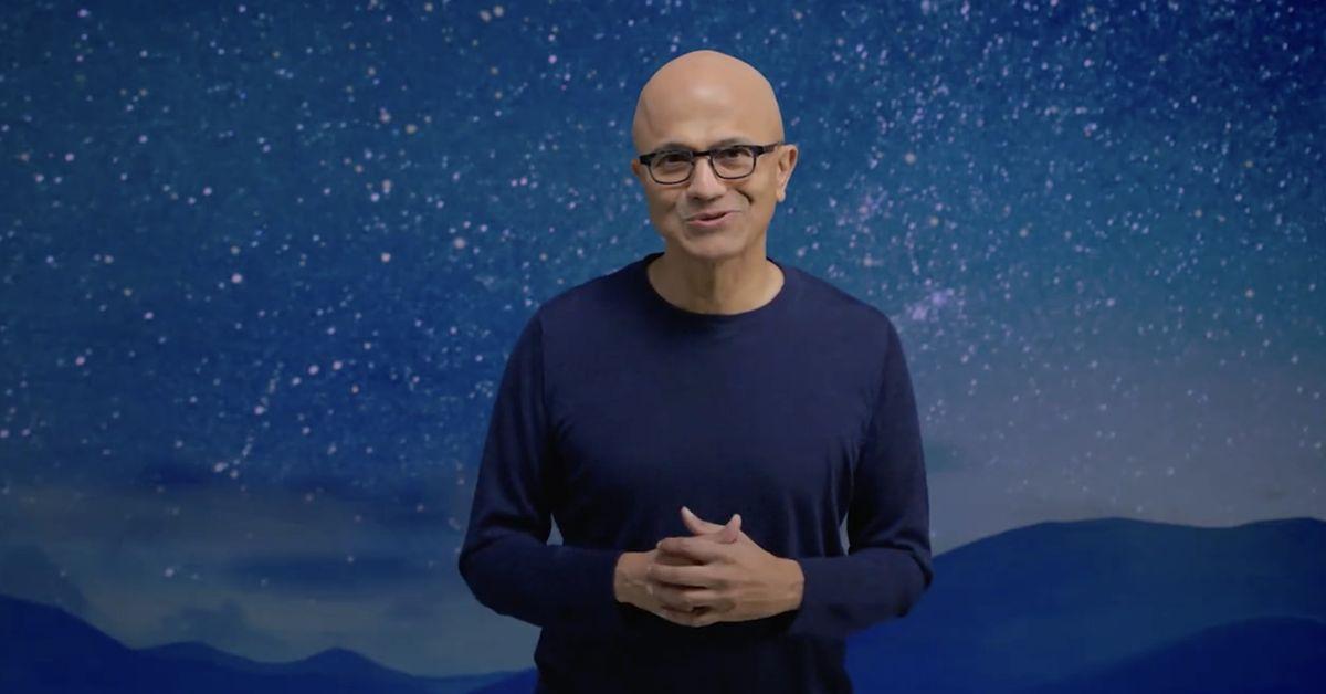 Satya Nadella's closing Windows 11 remarks were a direct shot across Apple's bow
