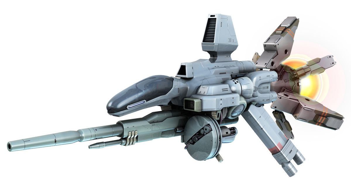 a render of a spaceship from R-Type Final 2