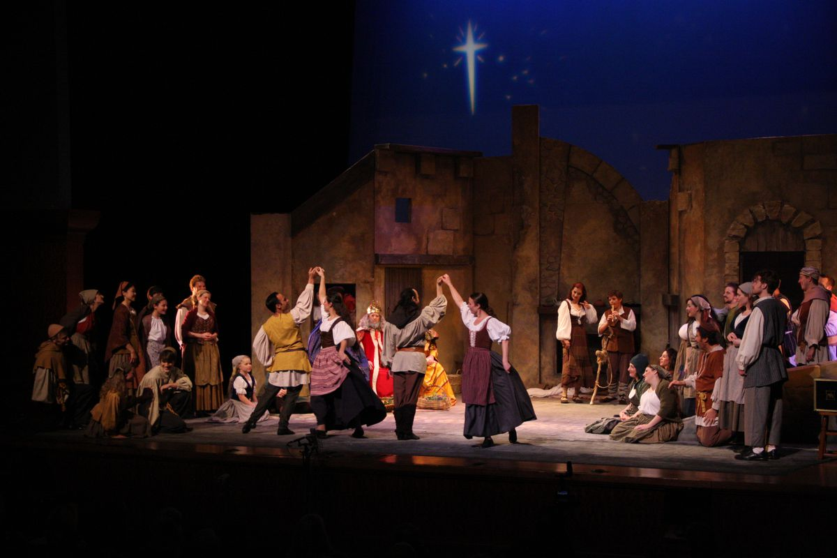 """The cast of """"Amahl and the Night Visitors."""""""