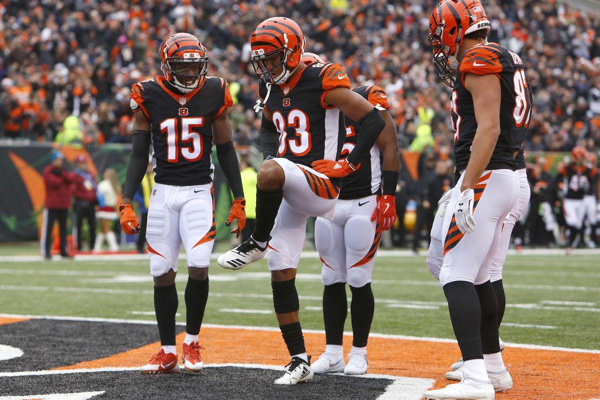 best service 6327c a1137 NFL  Oakland Raiders at Cincinnati Bengals