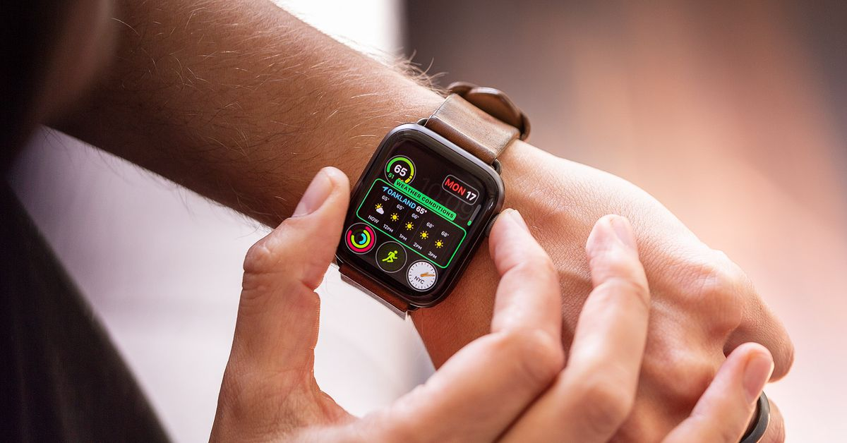 Smartwatch sales were up more than 60% in the US last year