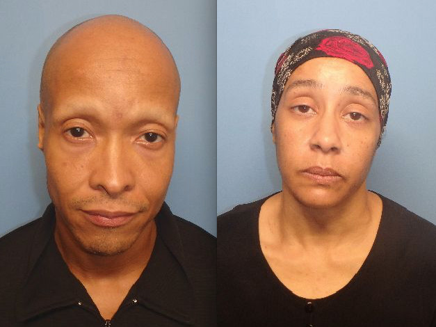 Randy Swopes (left) and Katherine Swopes   Waukegan police