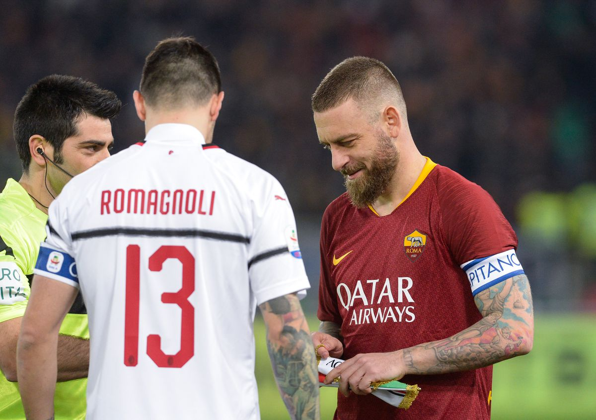 AS Roma v AC Milan - Italian Serie A