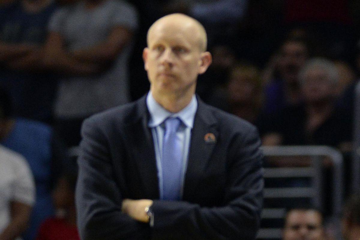 Color Coach Mack unimpressed.