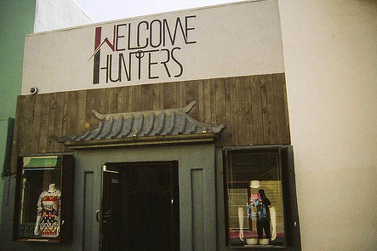 "Image via <a href=""http://www.welcomehuntersla.com/"">Welcome Hunters</a>."