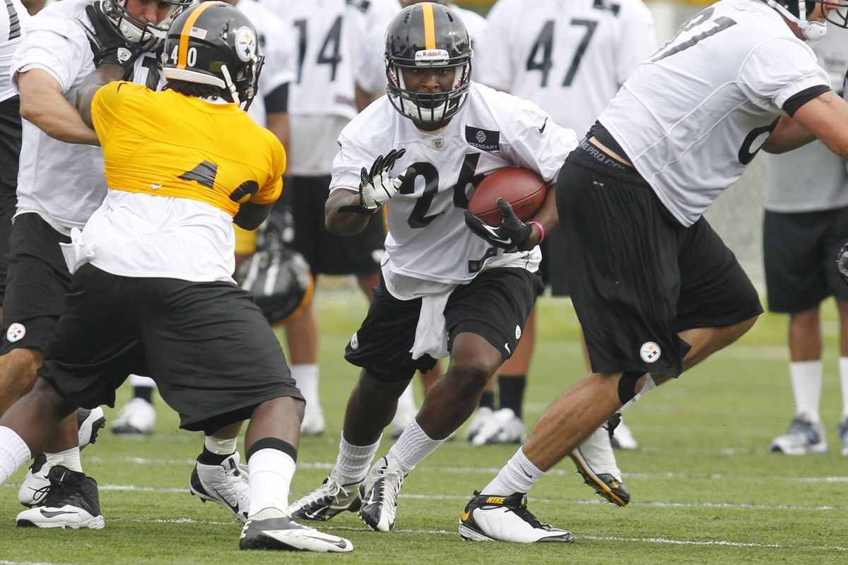 820c58fc8 Steelers training camp recap  First day in pads - Behind the Steel ...
