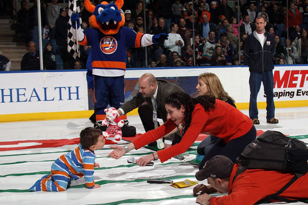 The Islanders' future first overall draft picks in training.