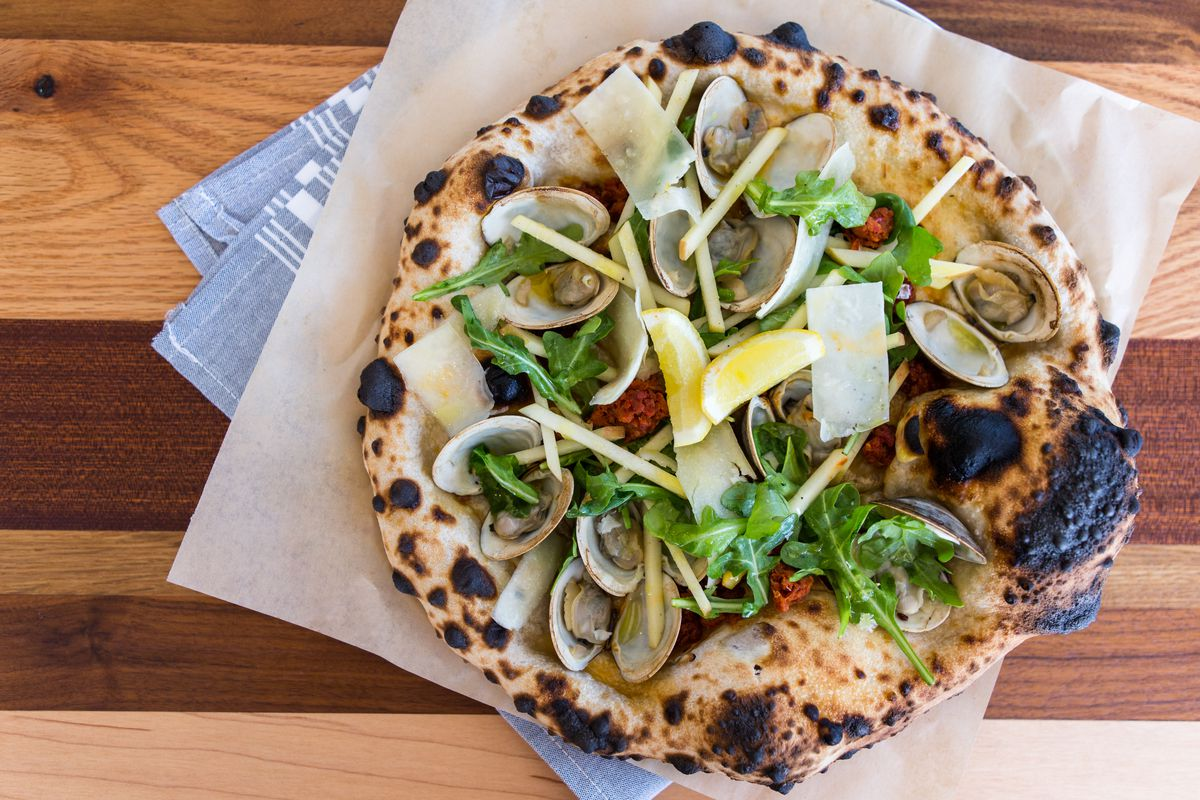 The Philly North pizza at 40 North