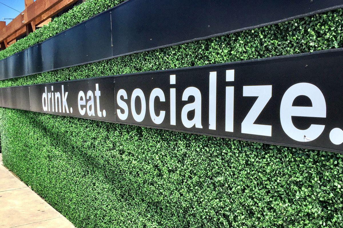 The slogan at Lincoln Bar + Kitchen