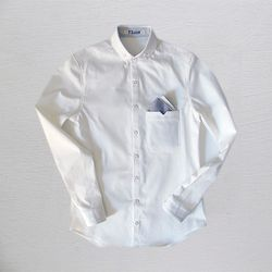 """Silver Lake-based clothing brand O'Harrow Clothiers' spread cotton button down shirt (<a href=""""http://oharrowclothiers.com/mens-button-down-shirts/oharrow-spread-collar-on-cotton"""">$95</a>) is an ace shirting option to get 2014 started off in style."""