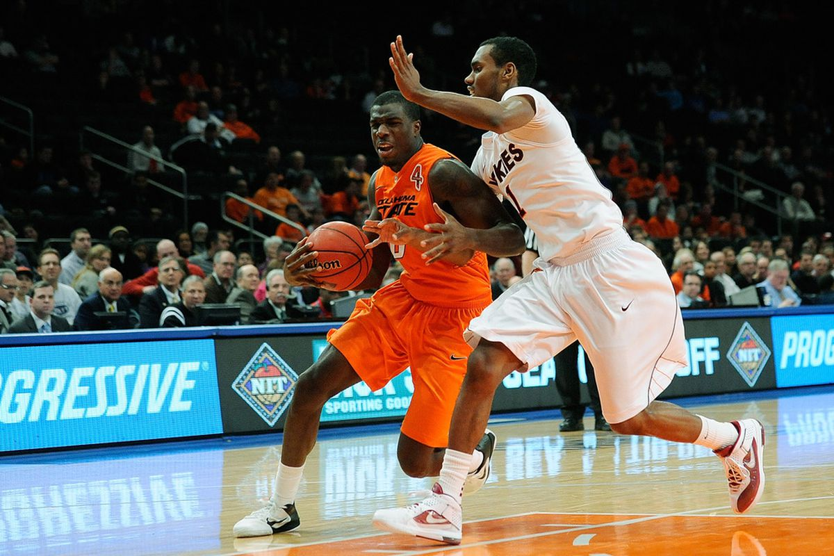 Pitt takes on Oklahoma State in the Garden today (Photo by Patrick McDermott/Getty Images)