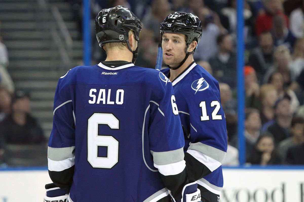 By the end of this road trip, two key cogs to the Lightning lineup (Sami Salo and Ryan Malone) may be back in the lineup.
