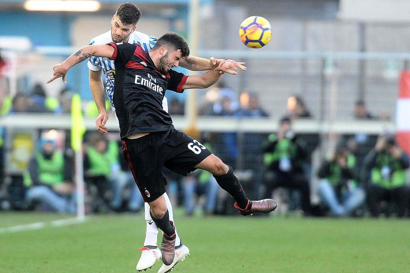 Rossoneri Round-up for February 18th: Gattuso wants Cutrone to get some rest & a girlfriend