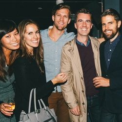 Charlene Chang; Vogue Marketing Manager Alex Gurule; Details Associate Director, Special Projects Kirby Duncan; Trey Sarten of W Hotels; and Bradley Minor of American Express